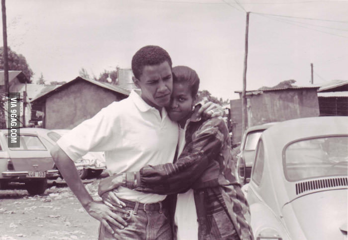 Obama and Michelle old