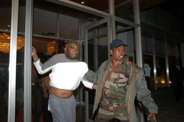 Laurent Gbagbo arrested