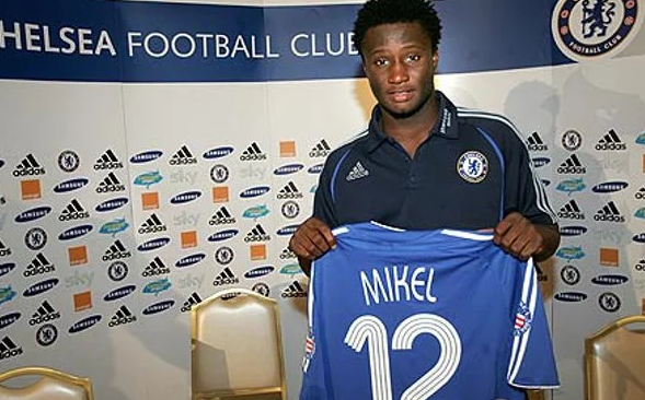 Mikel signs for Chelsea