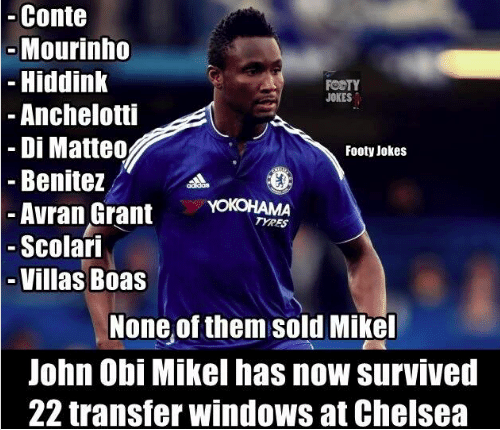 mikel chelsea managers