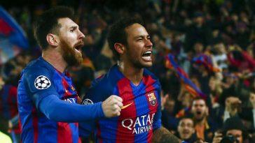 Neymar, Messi