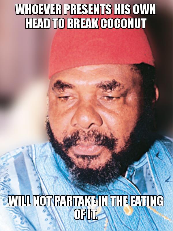 Pete Edochie Proverbs meme