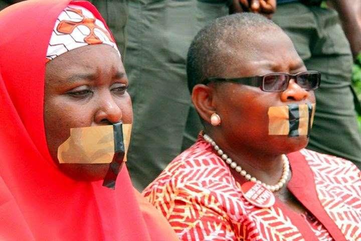 Oby Ezekwesili protest