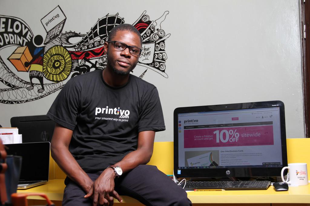 Oluyomi, CEO Printivo