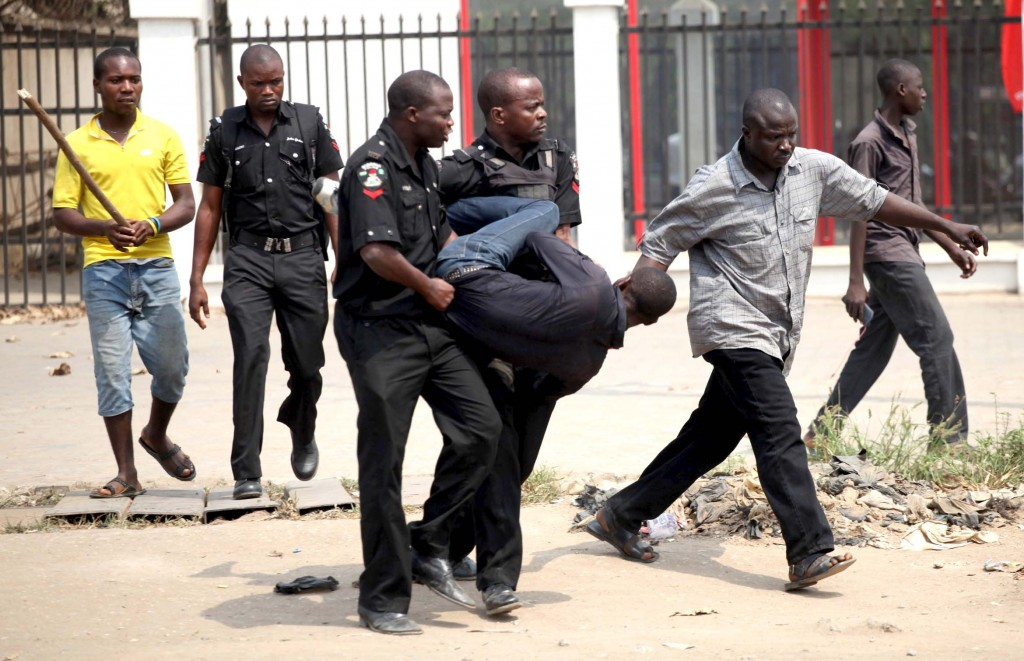 Police arrest