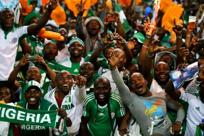 nigeria football supporters