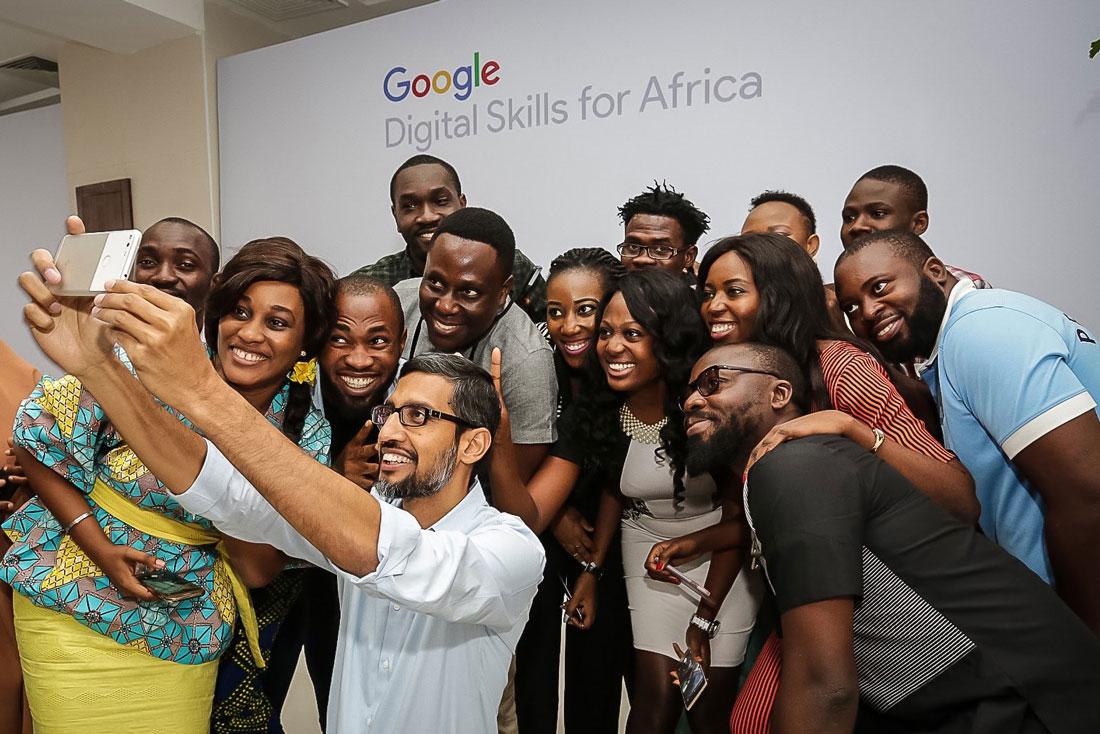 Google CEO Sundar Pichai in Nigeria