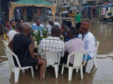Mainland flood