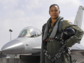 feminist, black woman fighter jet