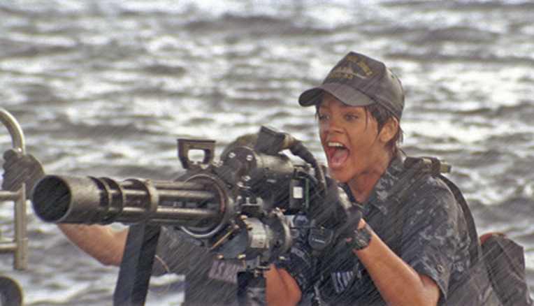 Rihanna battleship feminist