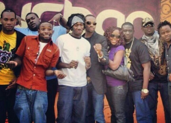 D'Prince, kay switch F. Shaw, DBanj, Omawunmi, Wande Coal, Dr Sid, Yemi Sax in South Africa