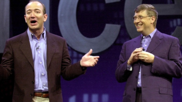 Bill Gates and Jeff Bezos