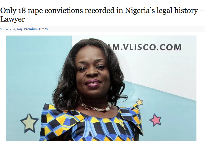 Rape cases conviction