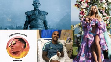 Game of Thrones, Wizkid, Beyonce, Carl Ikeme