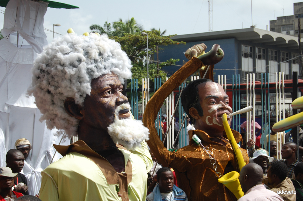 Fela and Soyinka