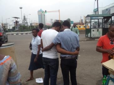 Gay couple in Nigeria