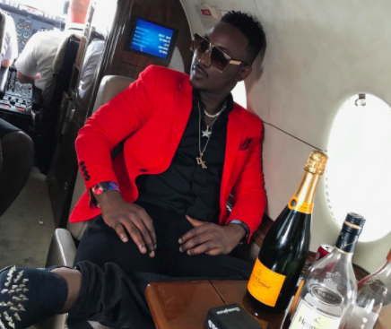 Dammy Krane private jet