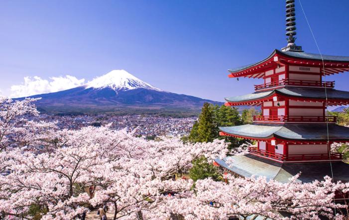 Japan peaceful countries