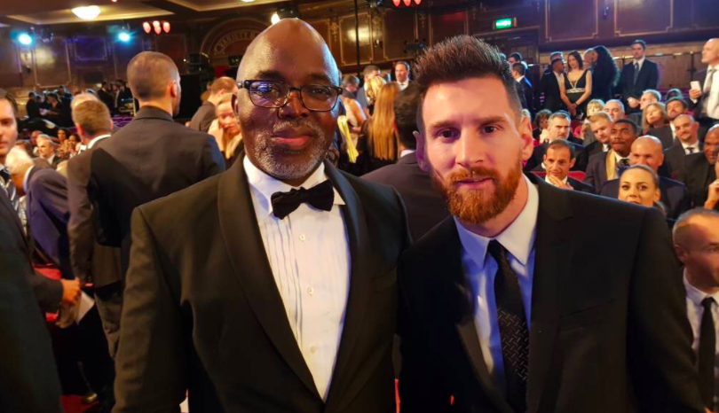 Amaju Pinnick, Messi, The Best