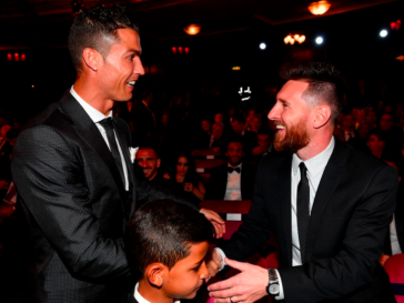 Messi, Ronaldo, Fifa The Best