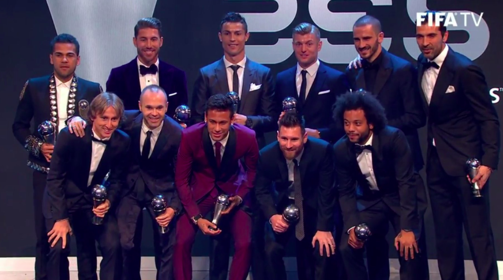 Fifa FIFPro, best 11, The BEst