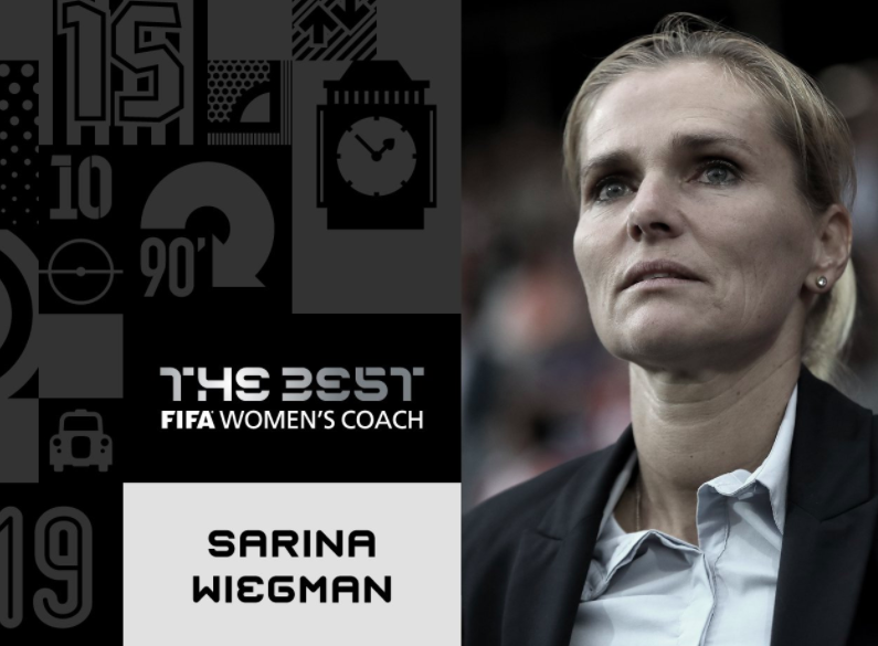 Sarina Wiegman, Fifa The Best