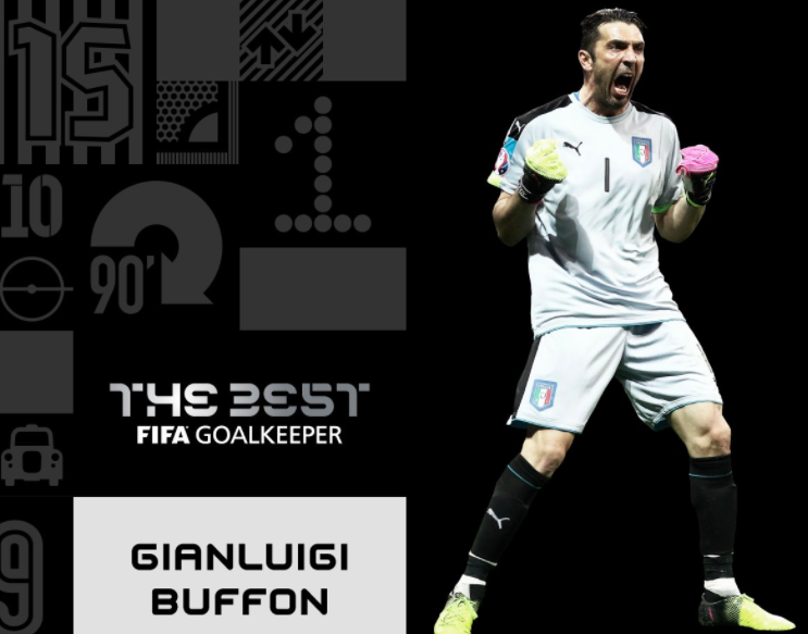 Buffon, Fifa The Best