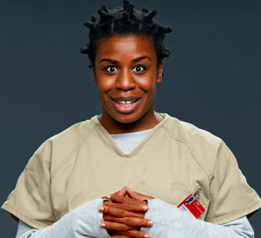 Uzo Aduba, Crazy Eyes, Orange is the new black