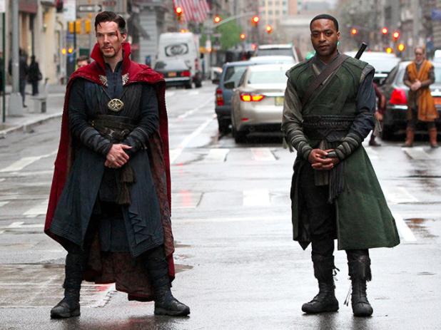 Chiwetel Ejiofor, Benedict Cumberbatch, Dr Strange