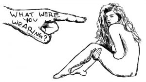 Victim blaming rape