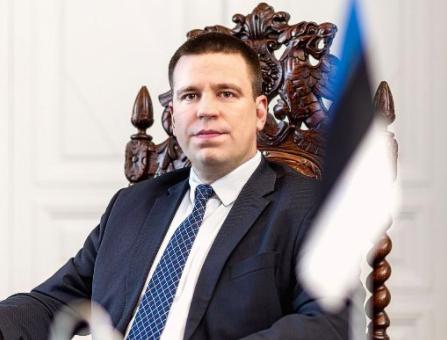 Jüri Ratas, Estonia