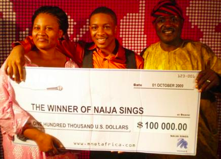 Jon Ogah, Naija Sings winner