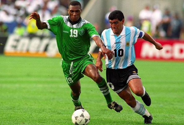 Michael Emenalo, Diego Maradona, 1994 Worldcup