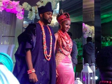 Banky W and Adesua Etomi wedding