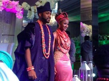 Banky W and Adesua Etomi wedding