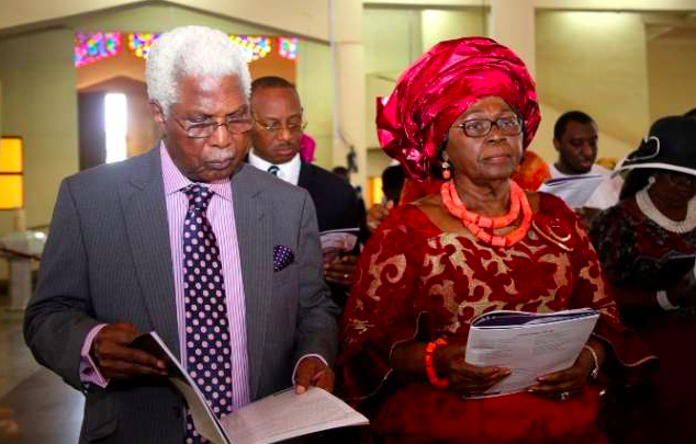Dr. Alex Ekwueme and wife, Beatrice Ekwueme