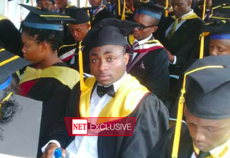 Davido graduate