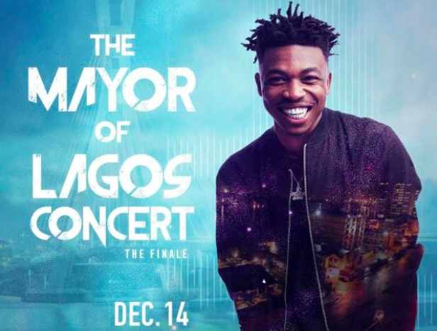 Mayorkun concert - Mayor of Lagos
