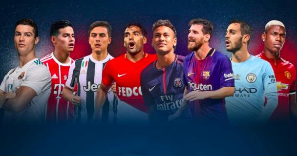 Messi, Ronaldo, Neymar, Pogba, Robben, champions league prediction