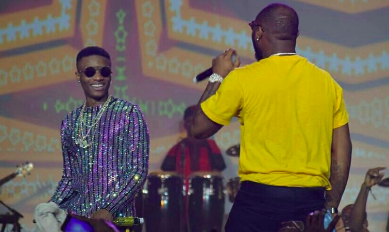 Wizkid and Davido, Wizkid The Concert