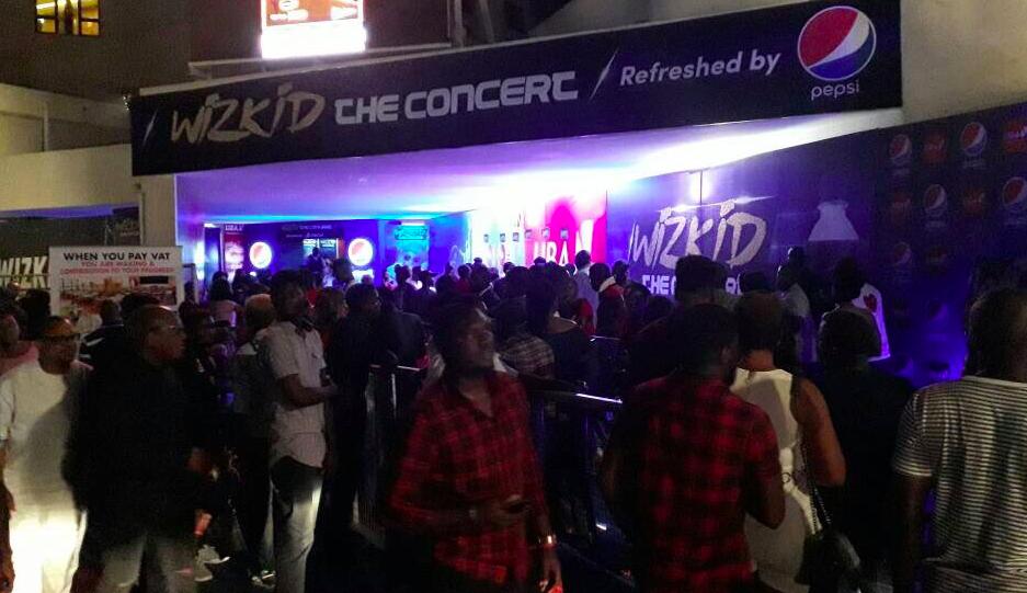 Wizkid concert