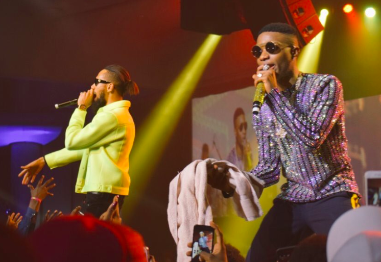 Wizkid and Phyno, concert