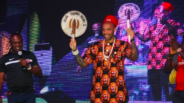 Thierry Henry in Nigeria