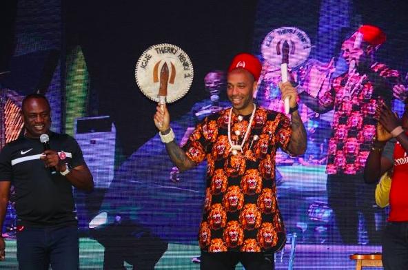 Thierry Henry in Nigeria