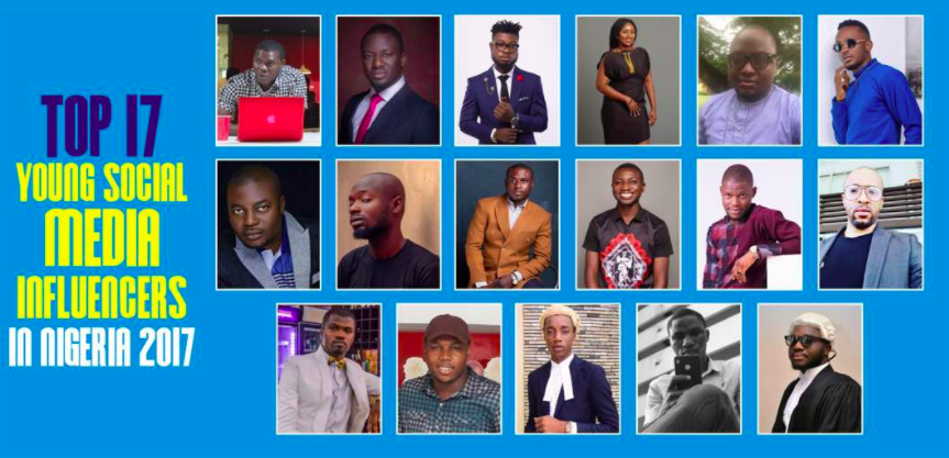 Top 17 influencers in Nigeria