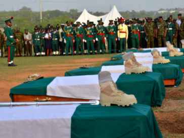 Armed Forces Remembrance Day - Soldiers who have died fighting Boko Haram