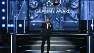 2018 Grammys, James Corden