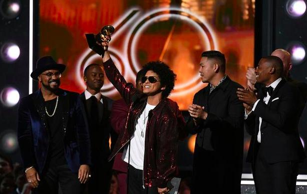 Bruno Mars, 2018 Grammys