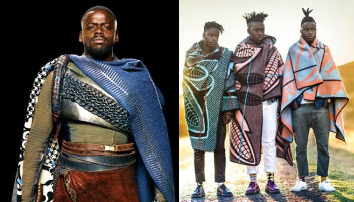 Basotho Blanket, Black Panther
