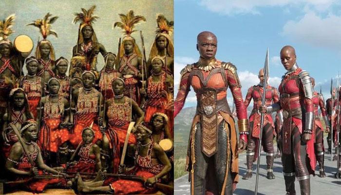 Dahomey Amazons and Dora Milaje